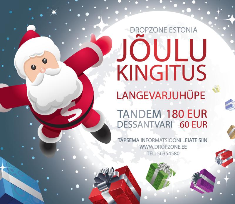 Dropzone Estonia Jõulukingitus